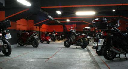 Garaje motos