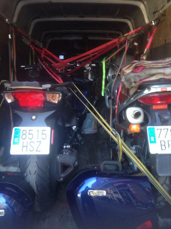 trasporte de motos